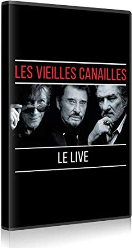 Vieilles canailles : Le live (Les) / Jacques Dutronc | Dutronc, Jacques (1943-....). Compositeur