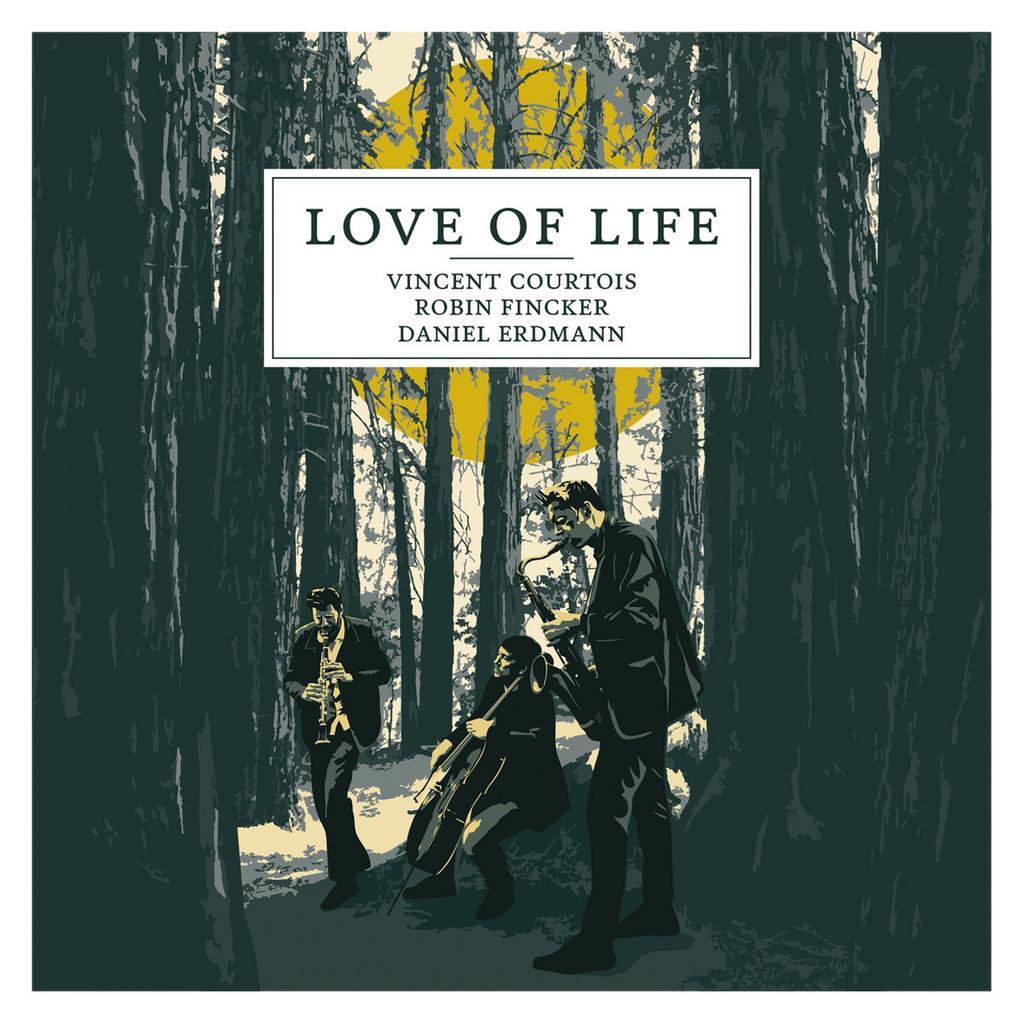 Love of life / Vincent Courtois (violoncelle)   Courtois, Vincent (1968-....)