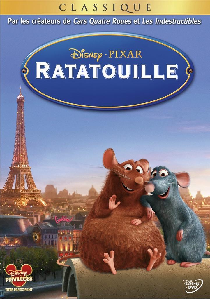 Ratatouille / Brad Bird | Bird, Brad. Metteur en scène ou réalisateur