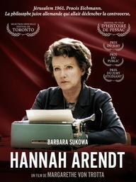 Hannah Arendt / Margarethe von Trotta, réal. | Trotta, Margarethe von. Metteur en scène ou réalisateur