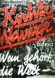 Kuhle Wampe / Slatan Dudow, Bertolt Brecht, réal. | Brecht, Bertolt. Metteur en scène ou réalisateur