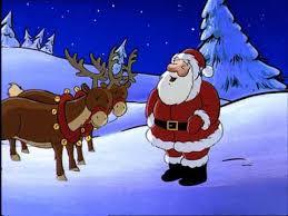Père Noël et Tom Chiffon - Les belles histoires de Pomme d'Api |